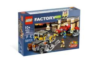 LEGO 10200 Factory Custom Muscle Car Garage Hot Rod City Town