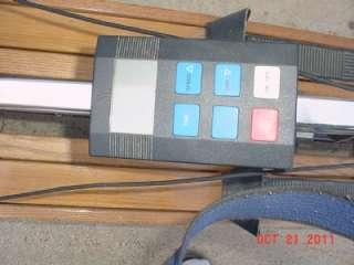 NORDIC TRACK PRO TUNED SKI MACHINE W/ ADVANCED COMPUTER PULSE CARDIO