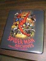 Spider man Archives Trading Card Binder Album