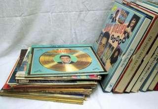 Lot of 67 Vinyl Records/Albums    ELVIS, HANK WILLIAMS, CARTER FAMILY