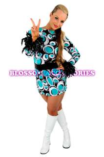 Fancy Dress on For 70s 80s Costumes 60s 70s Retro Hippie Go Go Girl Disco Fancy Dress