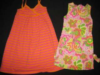 HUGE USED BABY GIRL 4T 5T SPRING SUMMER CLOTHES Dresses Outfits Play