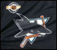 San Jose Sharks Logo NHL Ice Hockey Fan Jersey Shirt XL