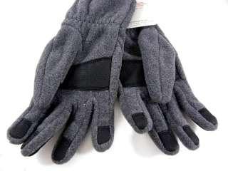 The North Face Denali Gray/Black Fleece Winter Work Warm Men Gloves