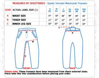SPADA TORNADO NYLON WATERPROOF MOTORBIKE MOTORCYCLE THERMAL WINTER