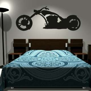 HARLEY DAVIDSON Vinyl wall sticker giant stencil tattoo mural decal