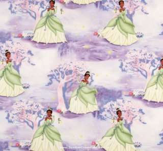 Creative Cuts DISNEY PRINCESS & THE FROG TIANA Fabric **2 Yards