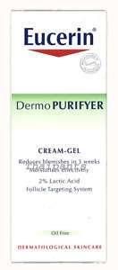 EUCERIN DermoPurifyer Acne Prone Skin   Cream Gel