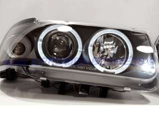 FARI ANGEL EYES VW POLO 6N BLACK O CROMO A LED + REGALO