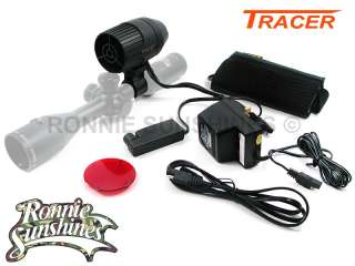 100 Meter Gun Lamp Light Kit Inc Dimmer Switch + Red Filter