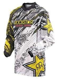 MAILLOT MOTO CROSS BMX QUAD ROCKSTAR ENERGY 2011   S