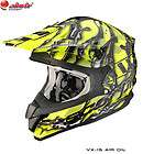 CASCO MOTO CROSS SCORPION VX 15 AIR OIL NEON NEW