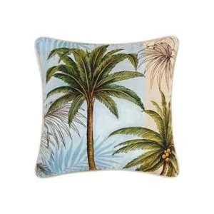 Throw Pillow   Palm Trees   18 x 18 Home & Kitchen