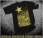 Rockstar Energy Drink T shirt One Industries Clothing Galaxy Motocross