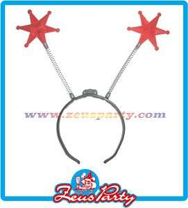 CARNEVALE ACCESSORIO COSTUME CERCHIETTO CON STELLE