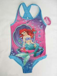 BN disney little mermaid ariel swimming costume/swimsuit.2 10yrs