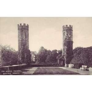 Birthday Greetings Card English Church Sussex Battle Abbey