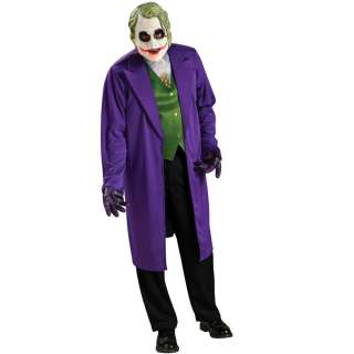BATMAN THE JOKER FANCY DRESS COSTUME OUTFIT OFFICIAL
