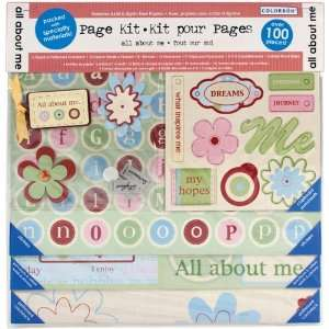 Colorbok All About Me Page Kit, 12 Inch by 12 Inch Arts