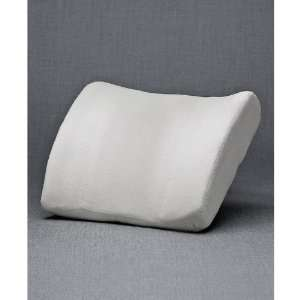 Homedics Lumbar Support, Foam Lumbar Pillow White:  Home