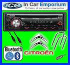 Citroen Saxo car radio stereo CD  player Kenwood KDC