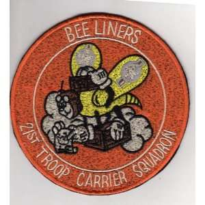 com 21st Troop Carrier Squadron Bee Liners 5 Patch Office Products