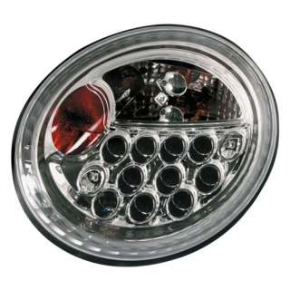 Fari Posteriori LED VW NEW Beetle 98 >> CROMATI
