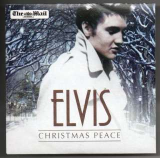 Elvis Presley The King Collectable Plate + Xmas CD