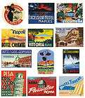 , suitcase items in Revival Vintage Luggage Labels store on