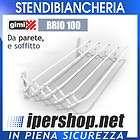 STENDIBIANCHERIA GIMI BRIO 100 CM DA PARETE E SOFFITTO