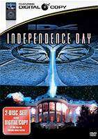 Independence Day (1996)   DVD in Movies: Science Fiction/Fantasy  JR