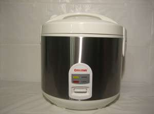 10 Cups All Stainless Steel Rice Cooker (CR 100B) 859900001101