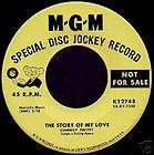 Rock & Roll Story CONWAY TWITTY Original MGM Mono BLUE SUEDE SHOES