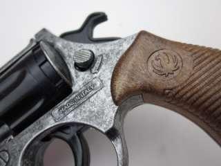 Detective Cap Gun TOY Police pistol Revolver Edison Giocattoli ITALY