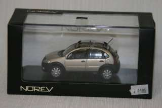 43 NOREV Citroen C3 XTR Bronze NEW IN BOX RARE 155331
