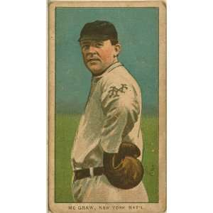 Photo John McGraw, New York Giants, baseball card portrait