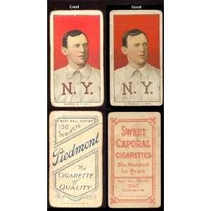 1909 t206 tobacco (baseball) Card# 313 john mcgraw (por no