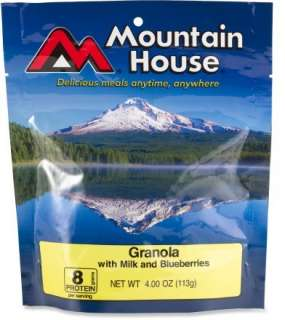 Mountain House Granola With Milk and Blueberries   2 Servings at REI
