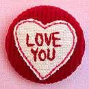 love heart fabric badge 5 8 12 6 69 8 27 love heart fabric badge by