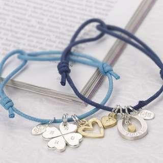 love knot friendship bracelets by chambers & beau