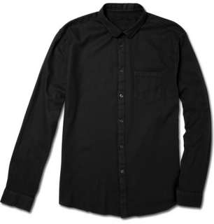 John Varvatos Lightweight Cotton Piqué Shirt  MR PORTER