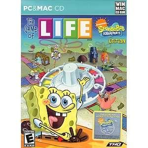 SpongeBob Squarepants Game of LIFE   PC/MAC CD ROM