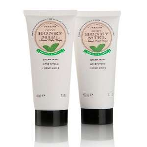 Perlier Honey and Mint Hand Cream 2 pack at HSN