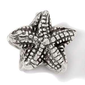 Bacio Sterling Silver Starfish Charm