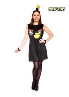 Angry Birds Sassy Black Bird Adult Costume  Cheap Board & Video Games