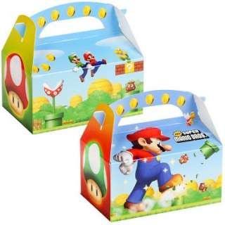Halloween Costumes Super Mario Bros. Empty Favor Boxes
