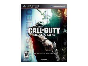 Call of Duty Black Ops Hardened Edition Playstation3 Game Activision
