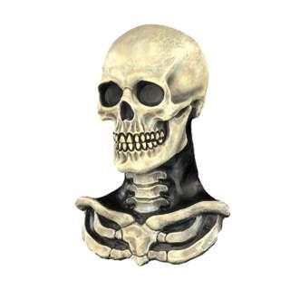 Cryptic Cadavers Skull N Bone Mask PVC   Includes a pvc skeleton