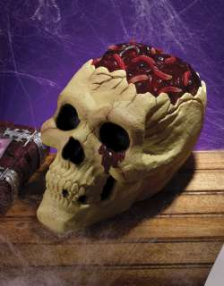 Skull with Bloody Brain Prop   Skull With Bloody Brain   This is one