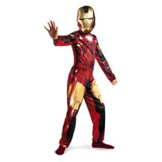 Iron Man 2 (2010) Movie   Mark VI Classic Child Costume   Includes